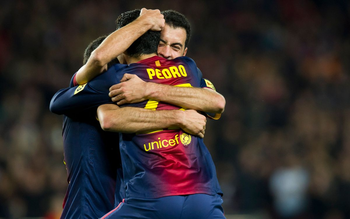 Pedro back amongst the goals