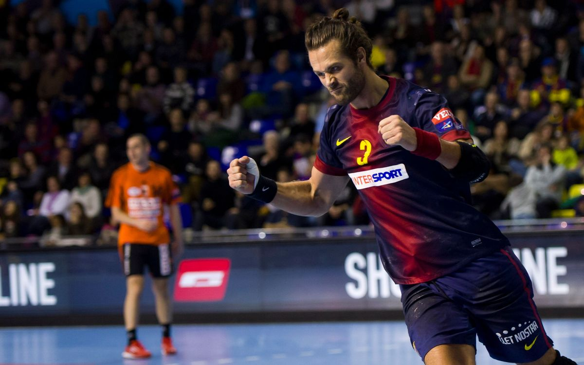 FCB Intersport – Kadetten Handball: Undefeted in Europe (36-25)