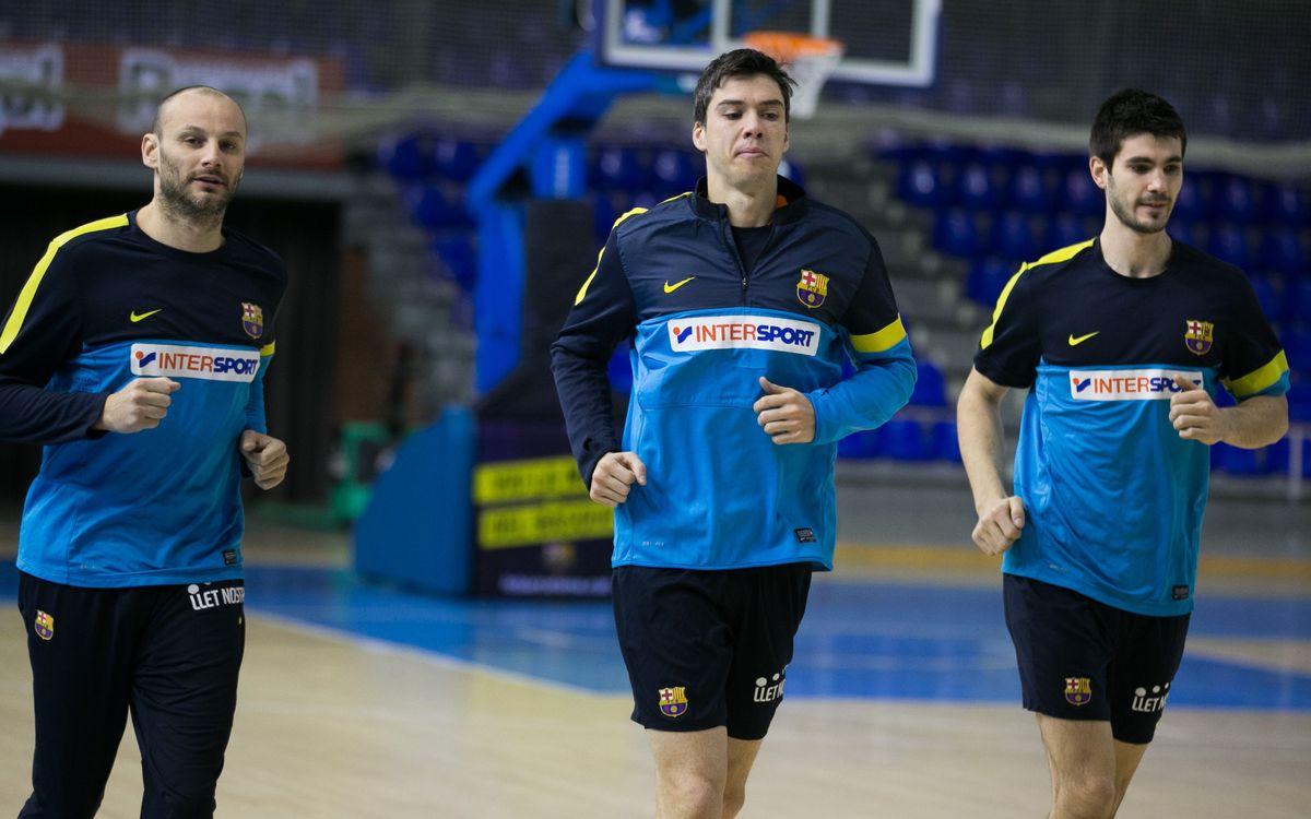 El Barça Intersport torna als entrenaments