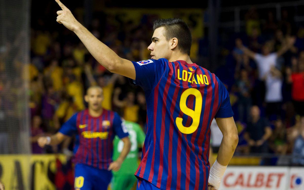 Barça Alusport's top 10 goals in 2012