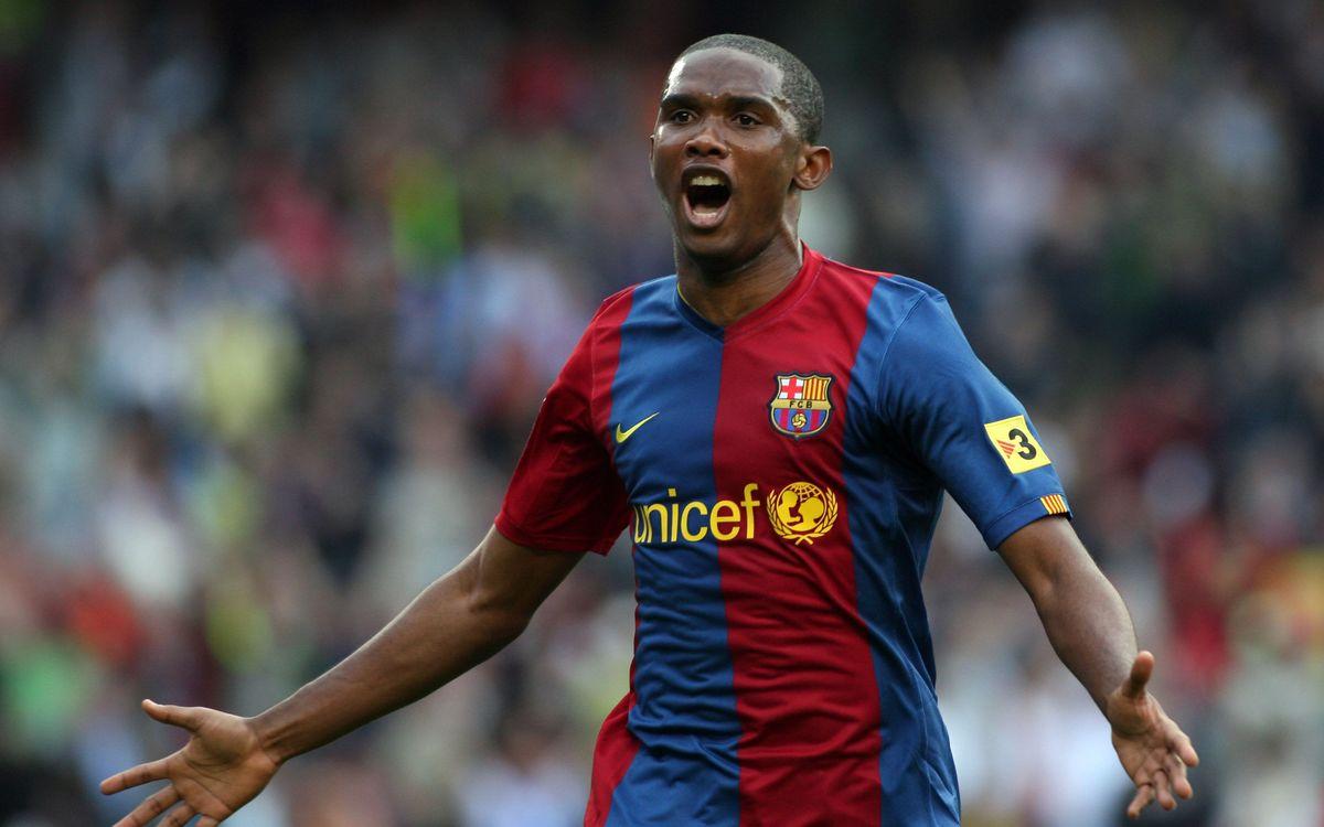 VIDEO - Barça Legends: Eto'o (1st half)