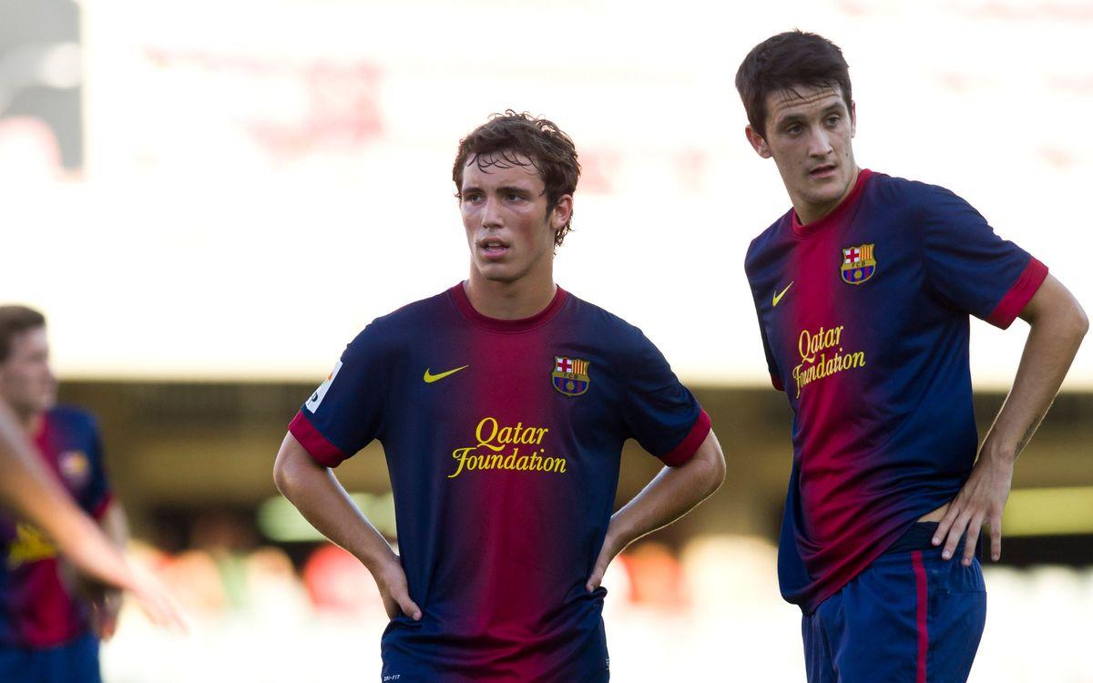 Four Barça B players named to Spain's U21 team