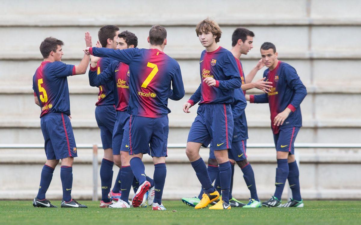 CF Badalona – Juvenil A: Victòria amb solvència (0-2)