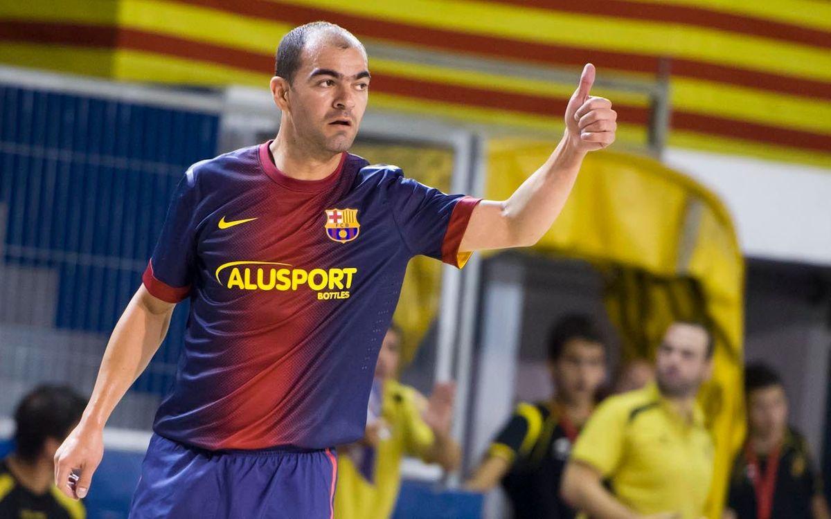 El Barça Alusport estrena la segona volta del campionat a Pamplona amb Wilde
