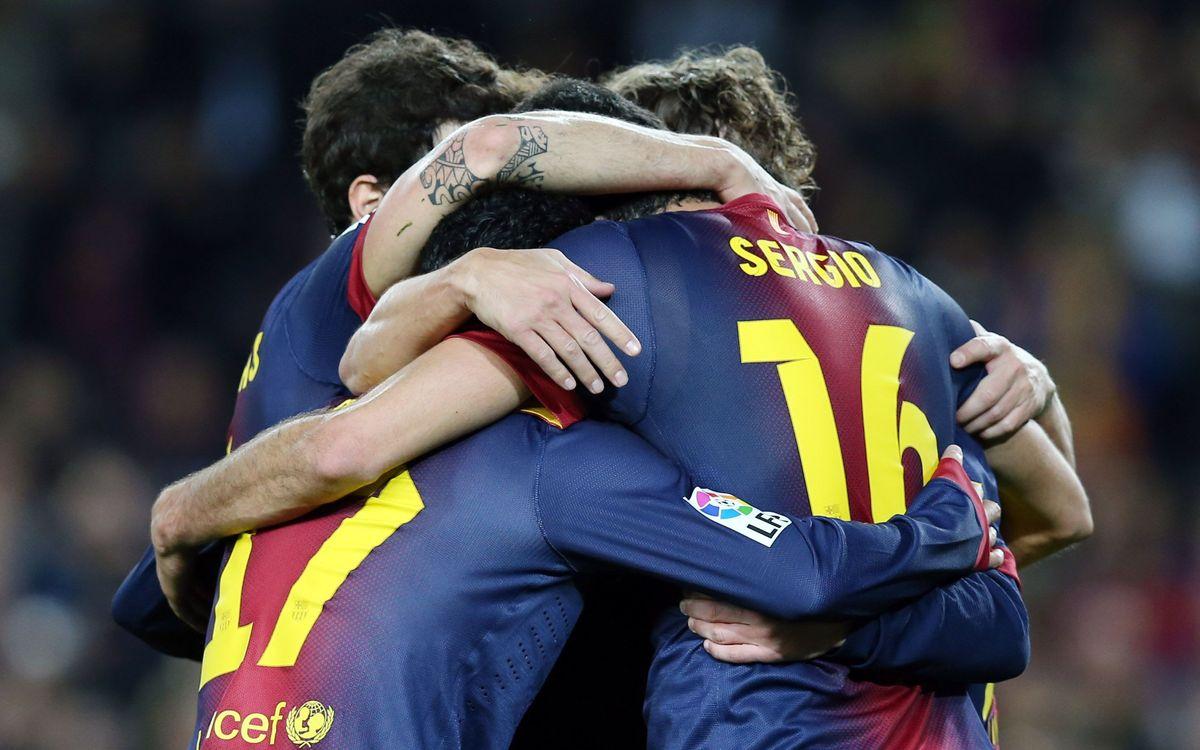 Le FC Barcelone égale le record lors de la phase aller, avec 52 points