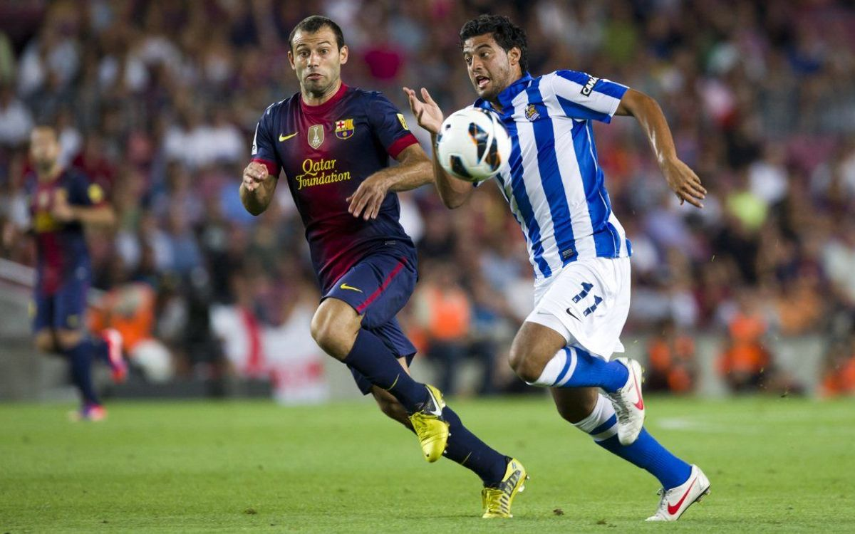 Spotlight on Real Sociedad: The Txuri-Urdin await the Blaugrana at the Anoeta