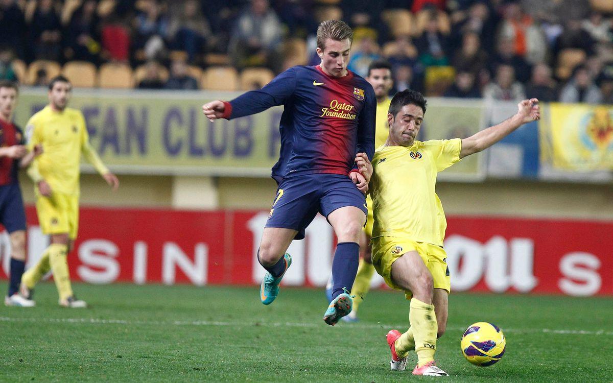 Villarreal - Barça B: Show of strength at El Madrigal (1-3)