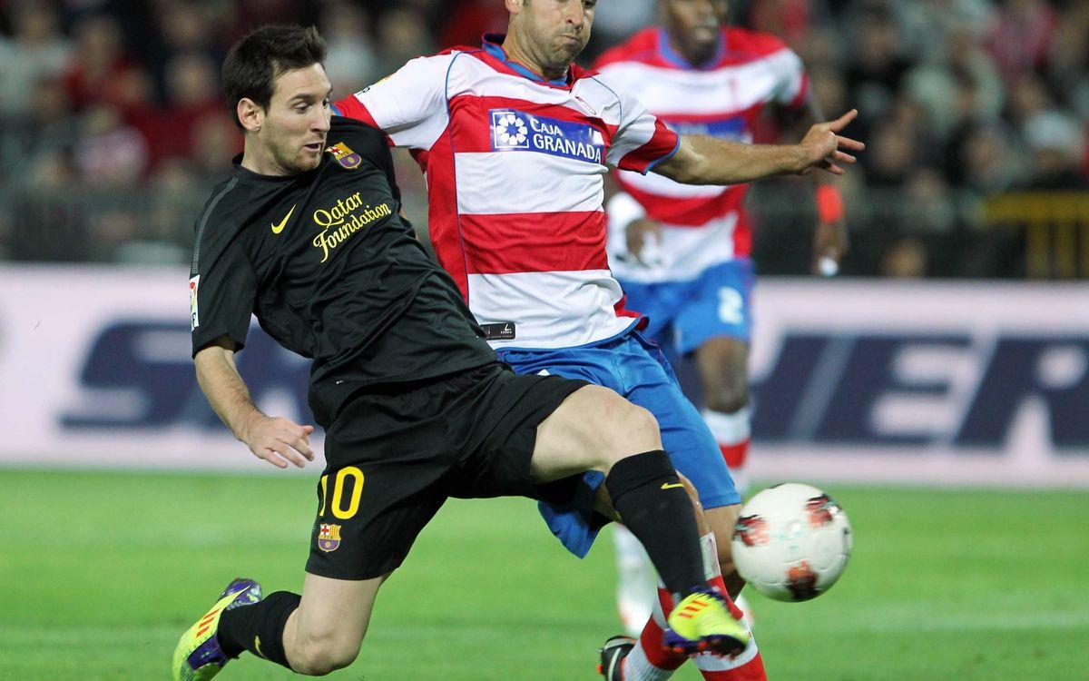 Granada-FCB: Saturday, February 16, at 20.00