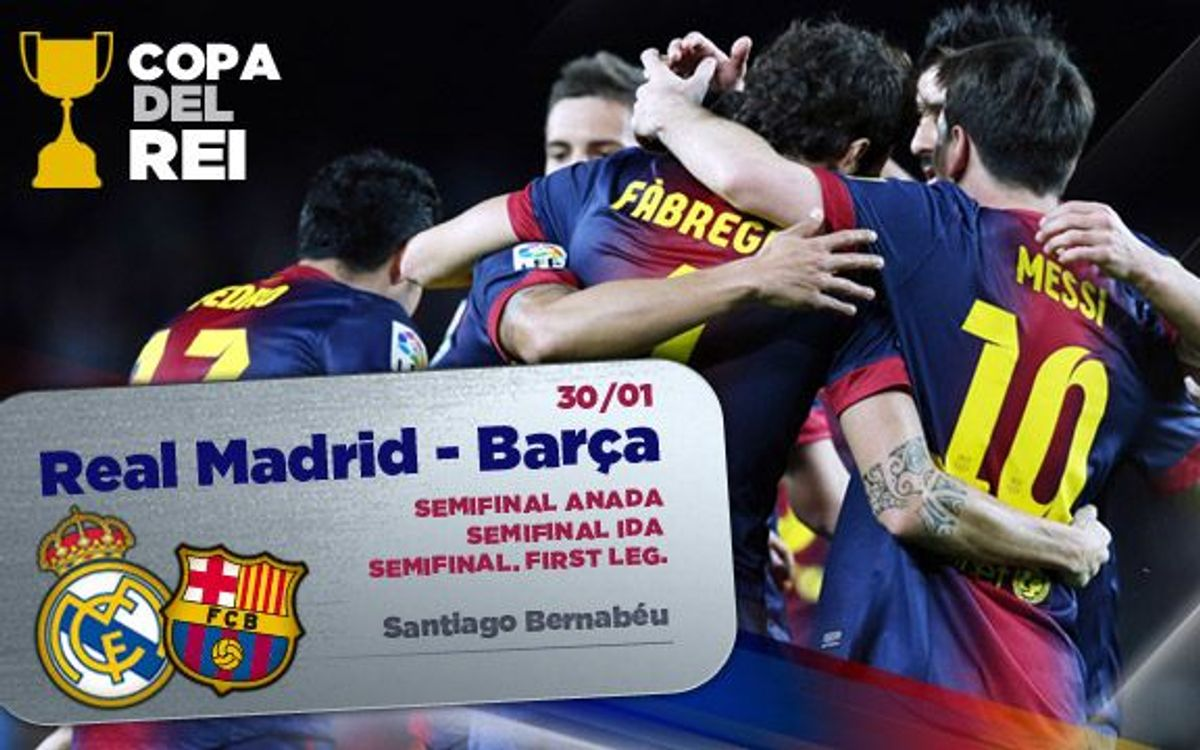 Tickets for the Madrid-Barça match to go on sale on the 25th of January