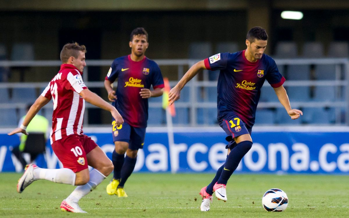 Almeria-FCB B: Last-gasp effort secures a point for the Blaugrana (2-2)