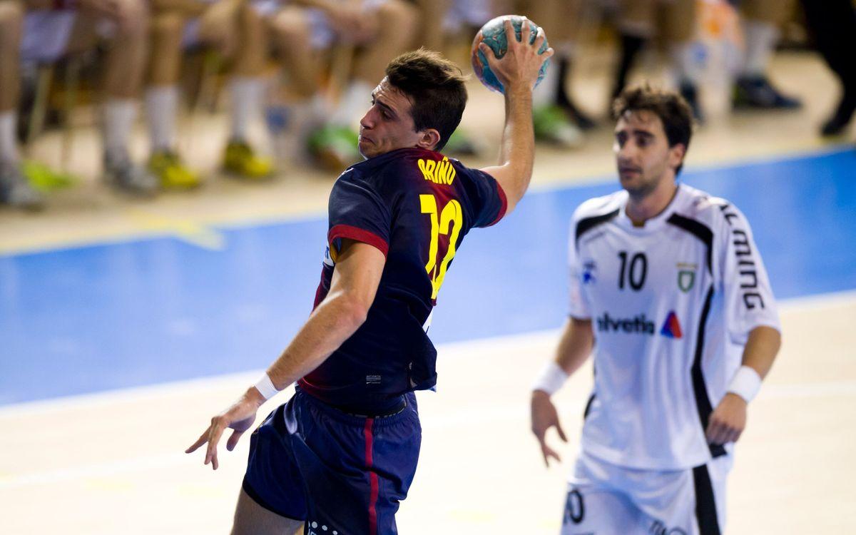 El blaugrana Aitor Ariño disputarà el Mundial d'handbol
