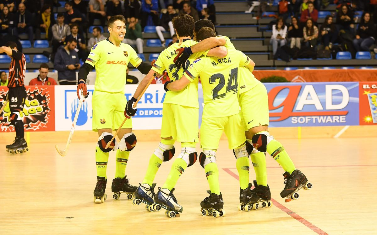 Barça Lassa 4-2 Noia Freixenet: Onwards to the semis
