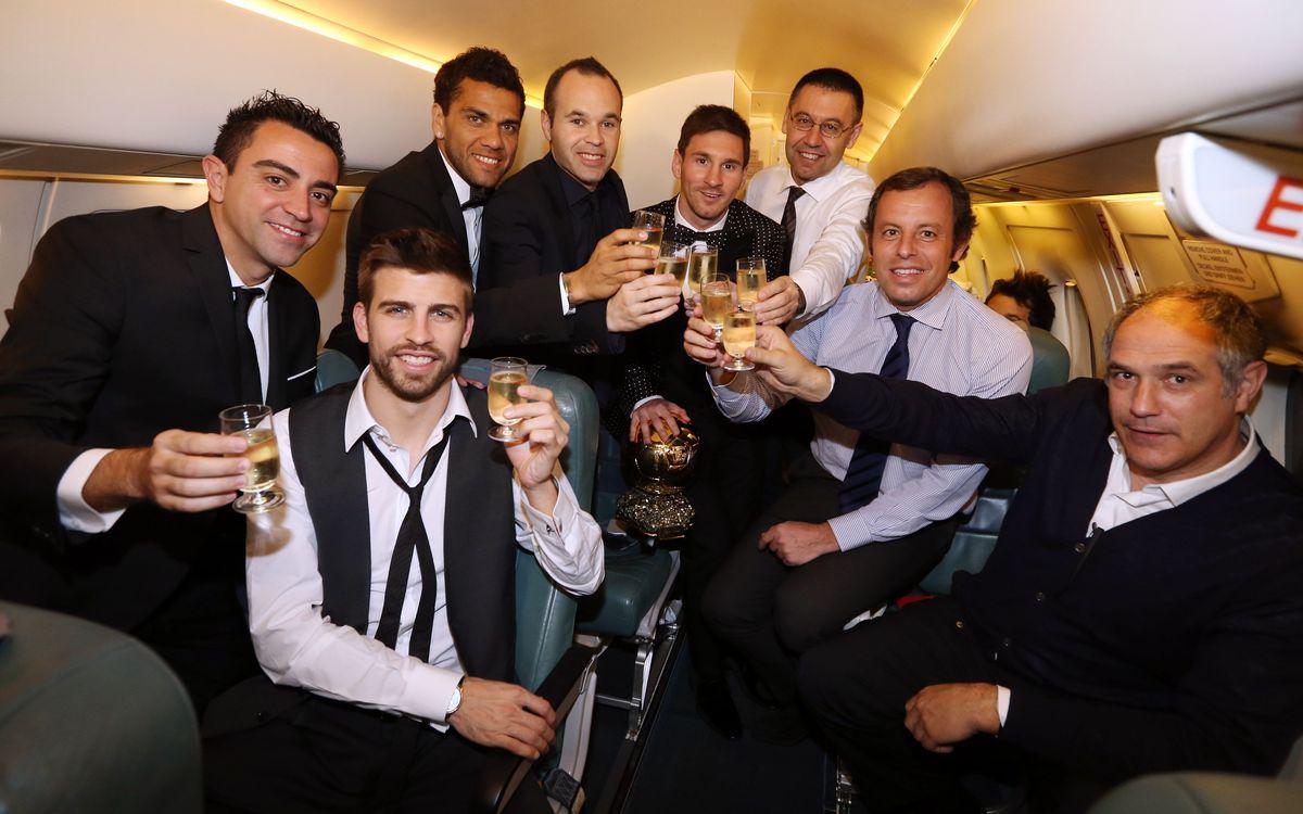 Ballon d'Or 2012: Return to Barcelona