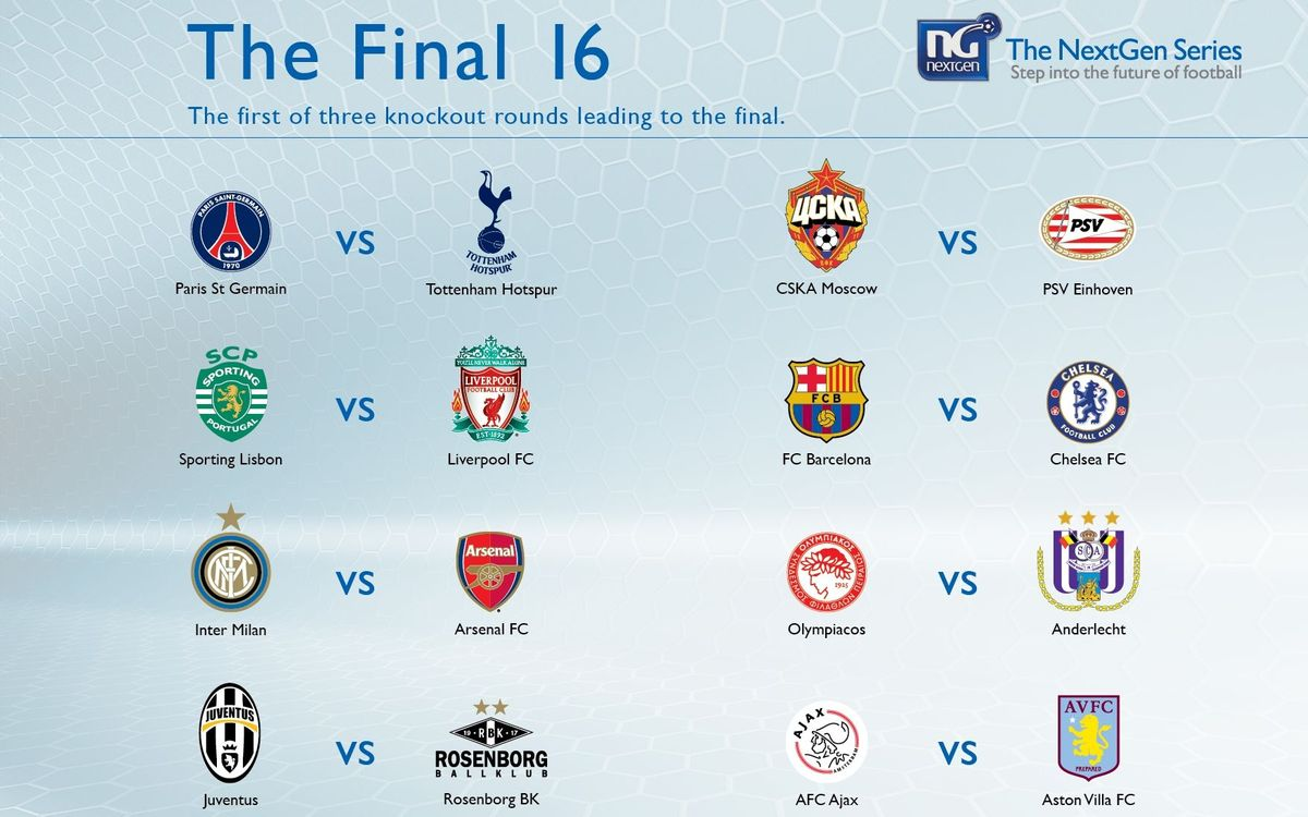 Barça and Chelsea to meet at the Mini in NextGen Series knockout phase