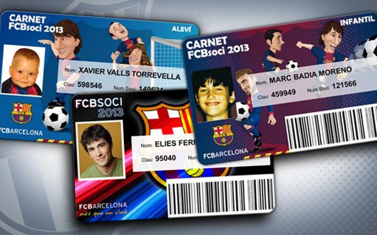 El carnet de soci del 2013, obligatori per al Barça-Getafe