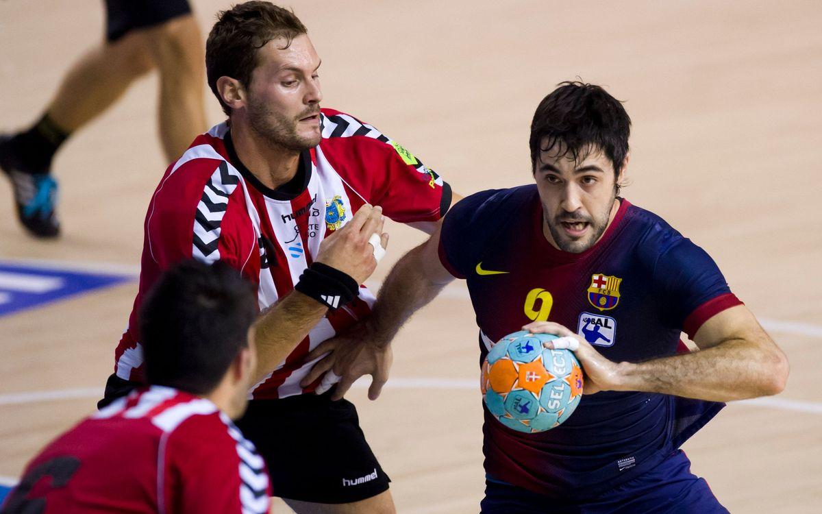 Un pas més a Cangas de Morrazo per al FC Barcelona