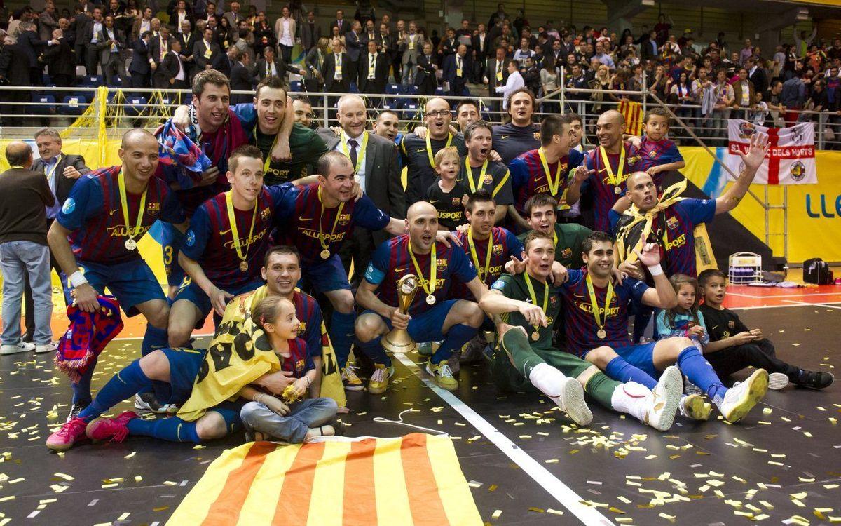 El camí fins a l'èxit del Barça Alusport