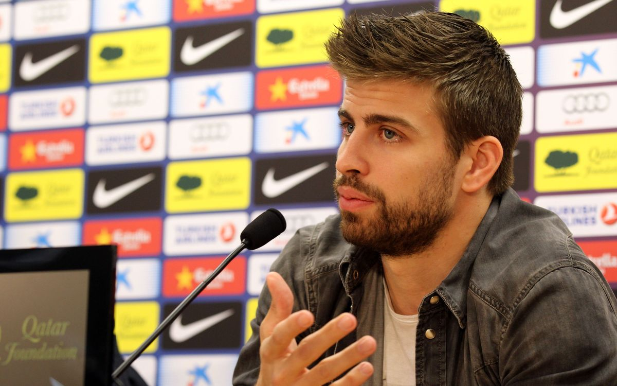 "Piqué: ""we mustn't think we are unbeatable"""