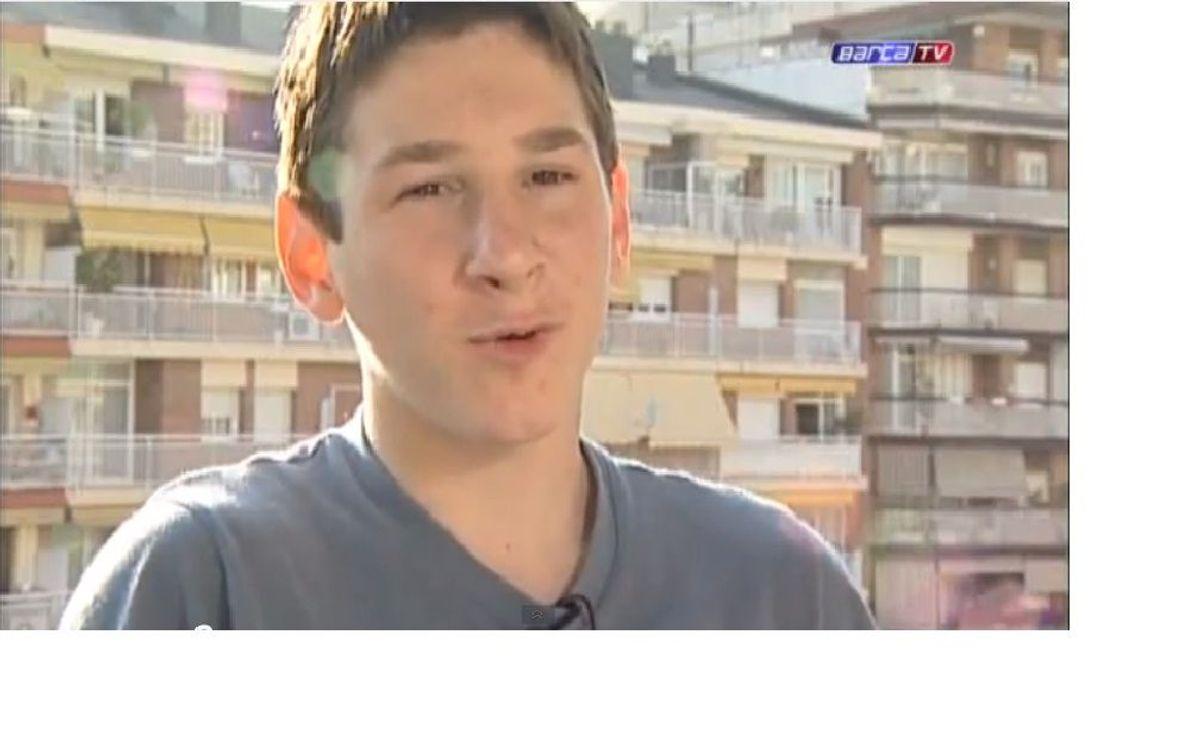 Aimar, l'ídol de Messi de petit