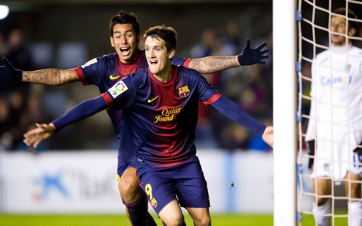 FC Barcelona B - Xerez CD: Remuntada d'orgull (4-2)