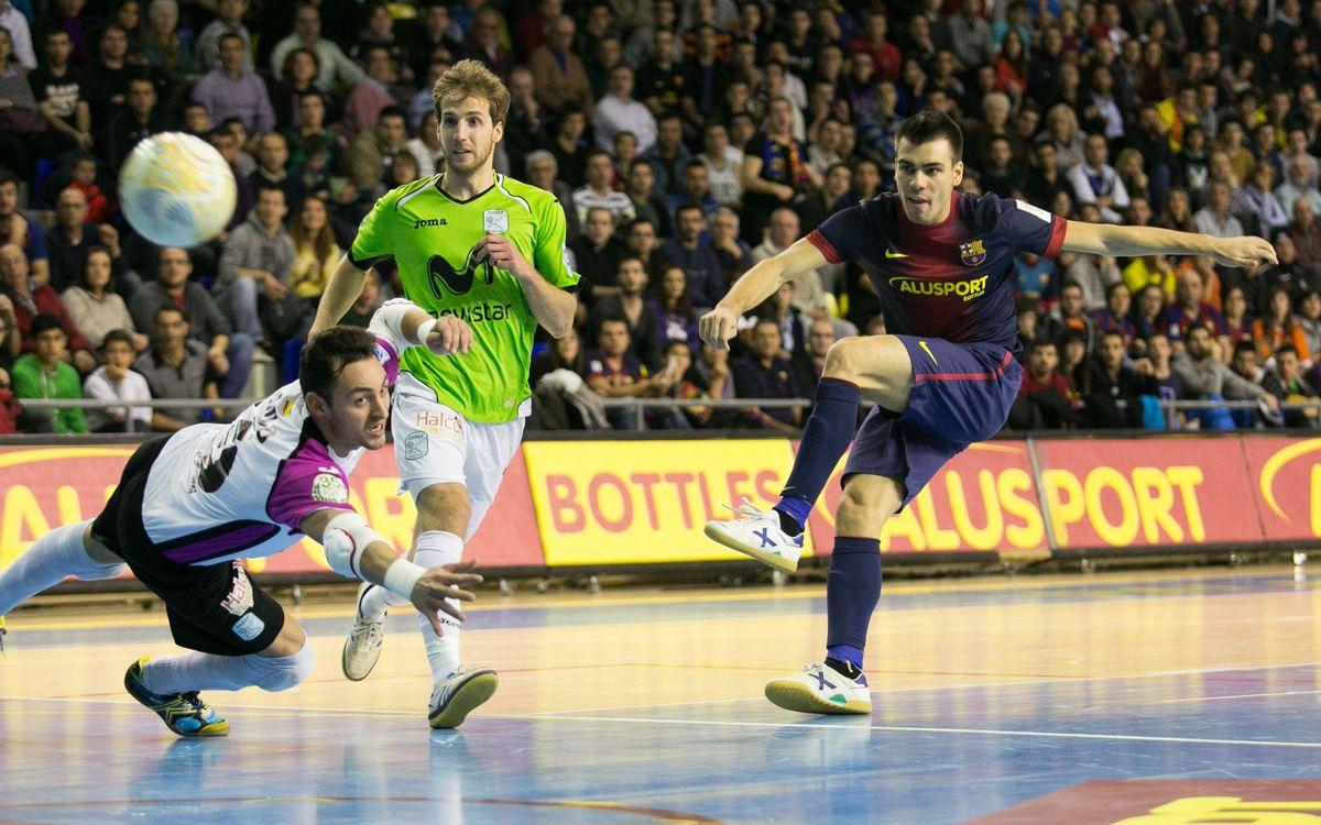 Barça Alusport i Inter Movistar repeteixen semifinal de Copa del Rei