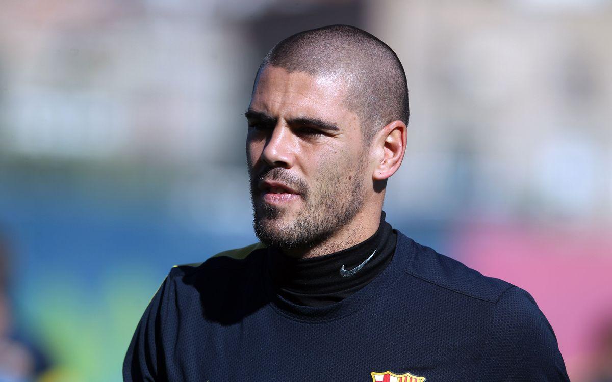 バルデス、左足底筋膜炎でカタルーニャ代表戦欠場