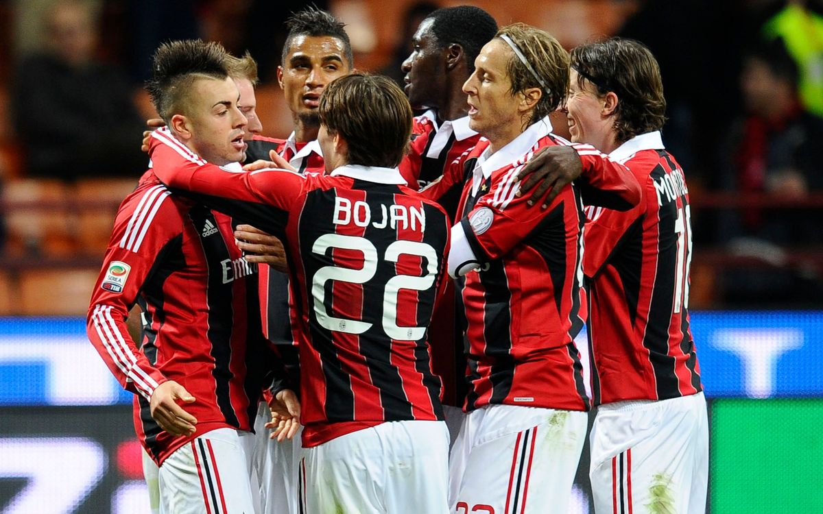 Bojan i Pazzini donen la victòria a l'AC Milan (2-1)