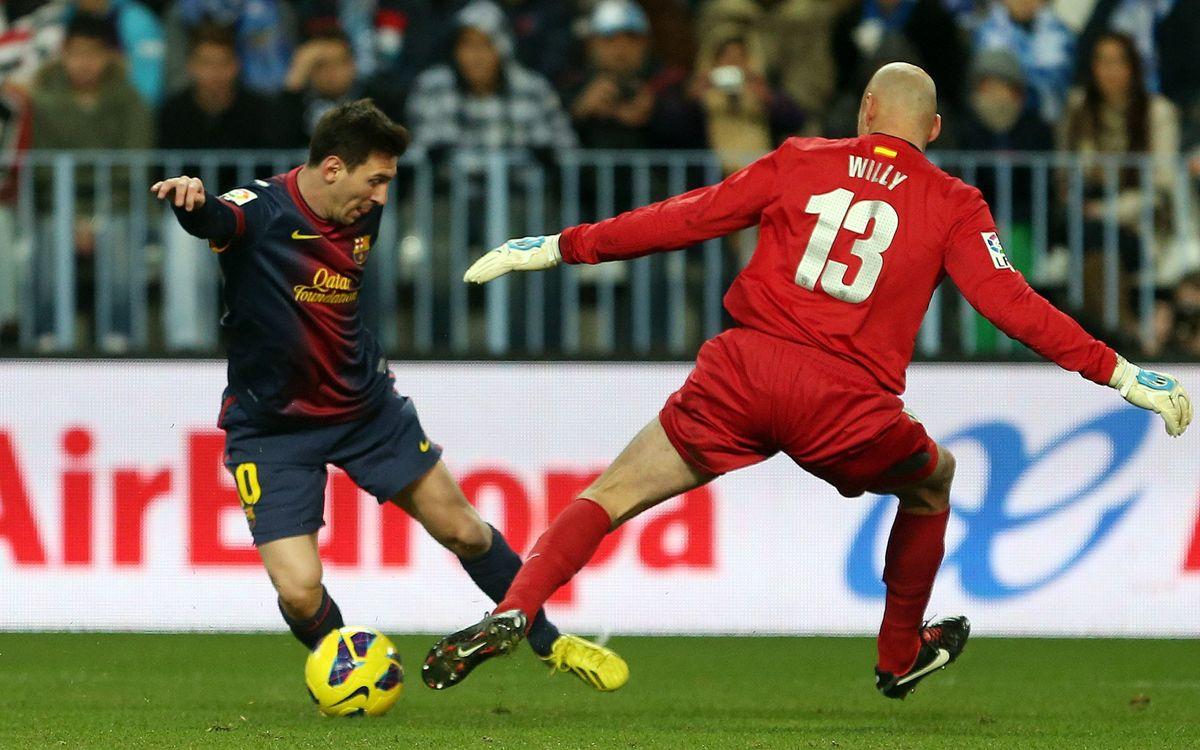 Màlaga-FC Barcelona: 'Match ball' de Copa