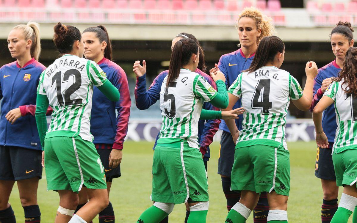 Betis - Barça Femenino (previa): El balón manda