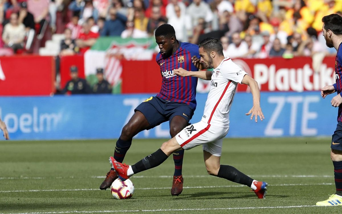 Umtiti returns after 91 days out