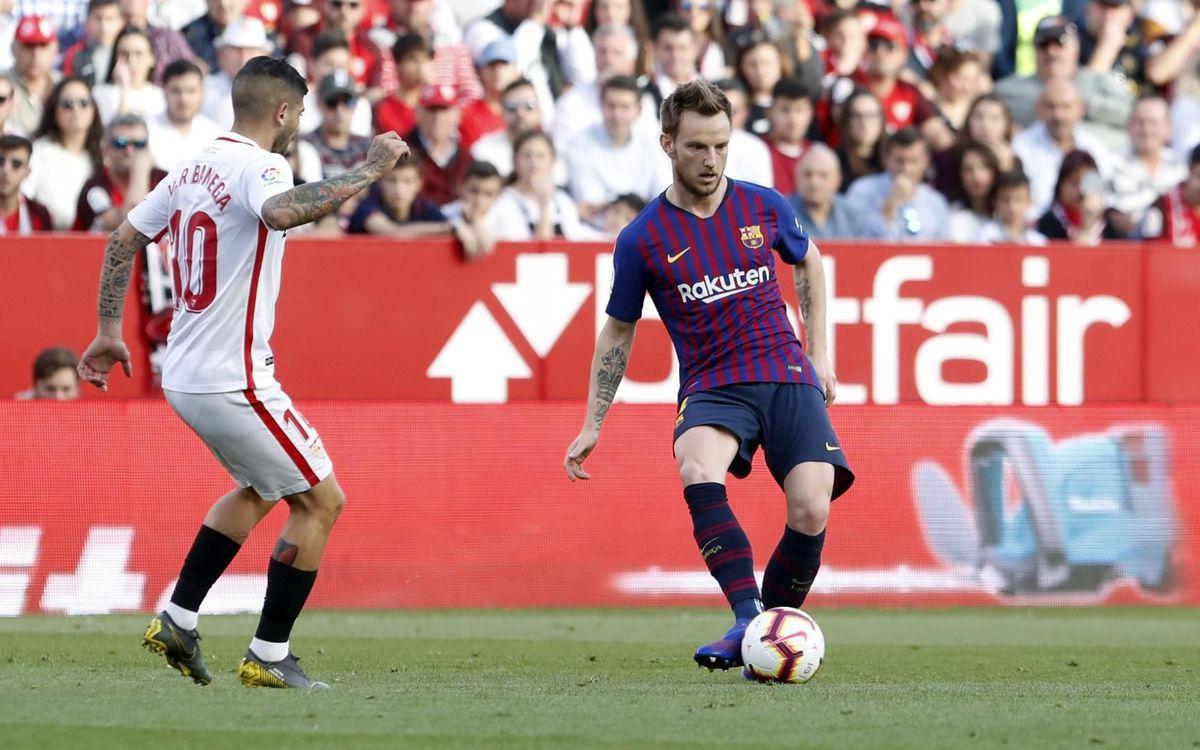 SEVILLA - FC BARCELONA: MIGUEL RUIZ