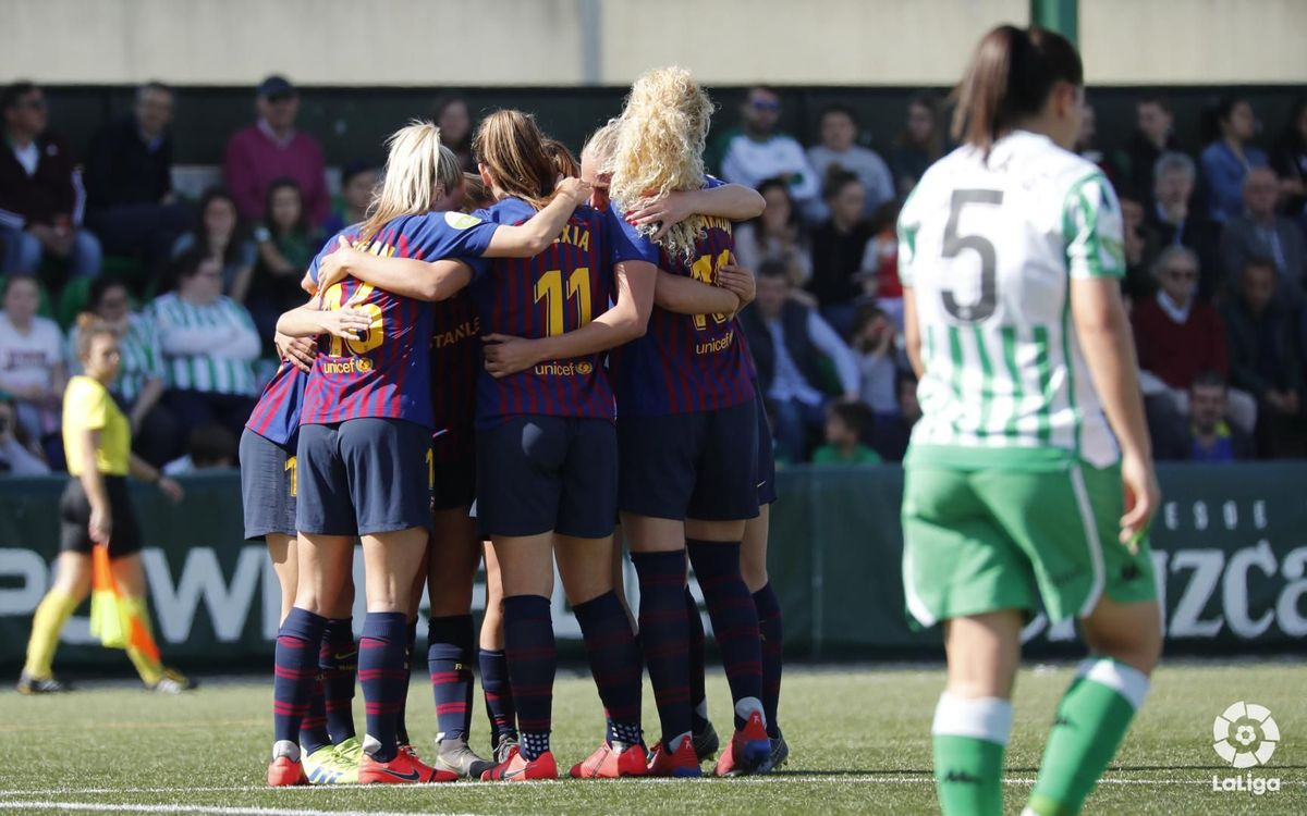 Real Betis 0-3 Barça Women: A win with style
