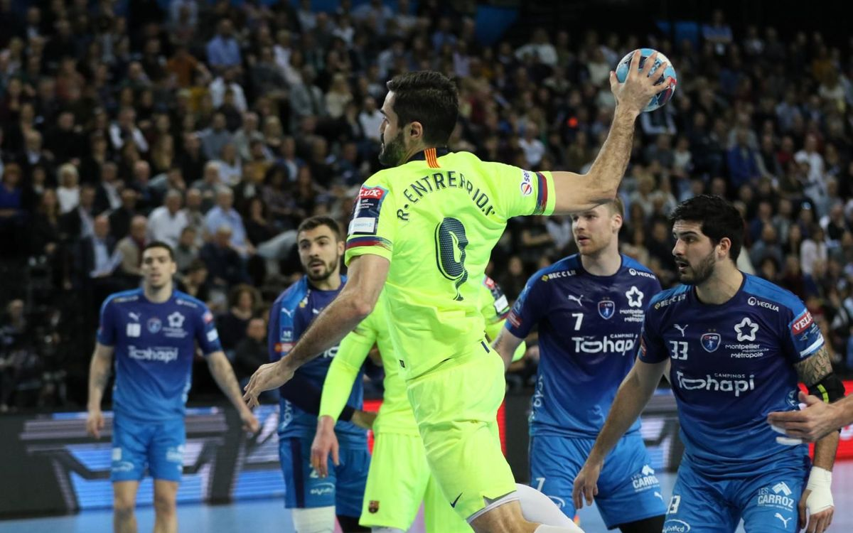 Montpellier HB 28 – 36 Barça Lassa: Straight to the Champions League quarterfinals!