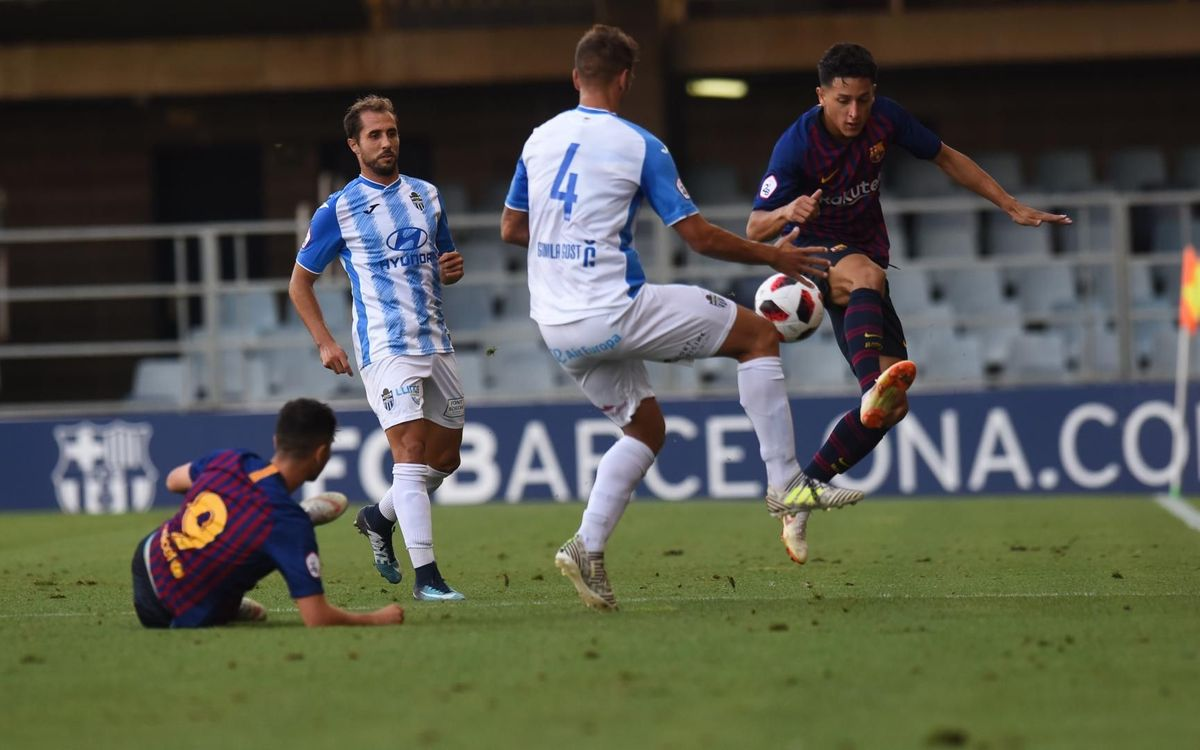 Atlètic Balears 1–0 Barça B: Stumble against the leader