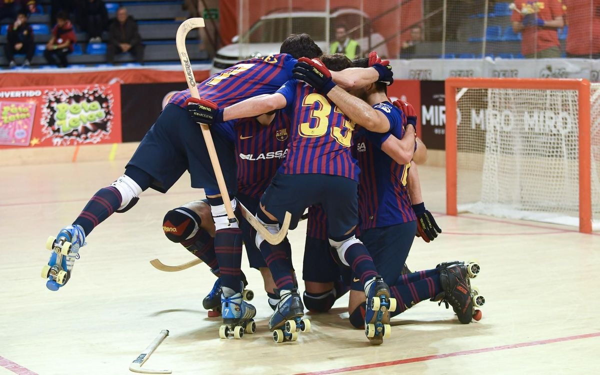 Liceo 1 – 4 Barça: Copa del Rey champions!