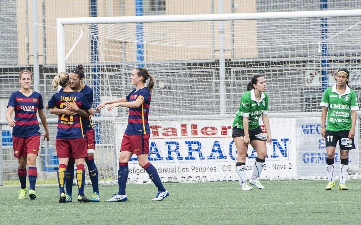 Oviedo Moderno v FC Barcelona Women: Out with a bang (0-5)