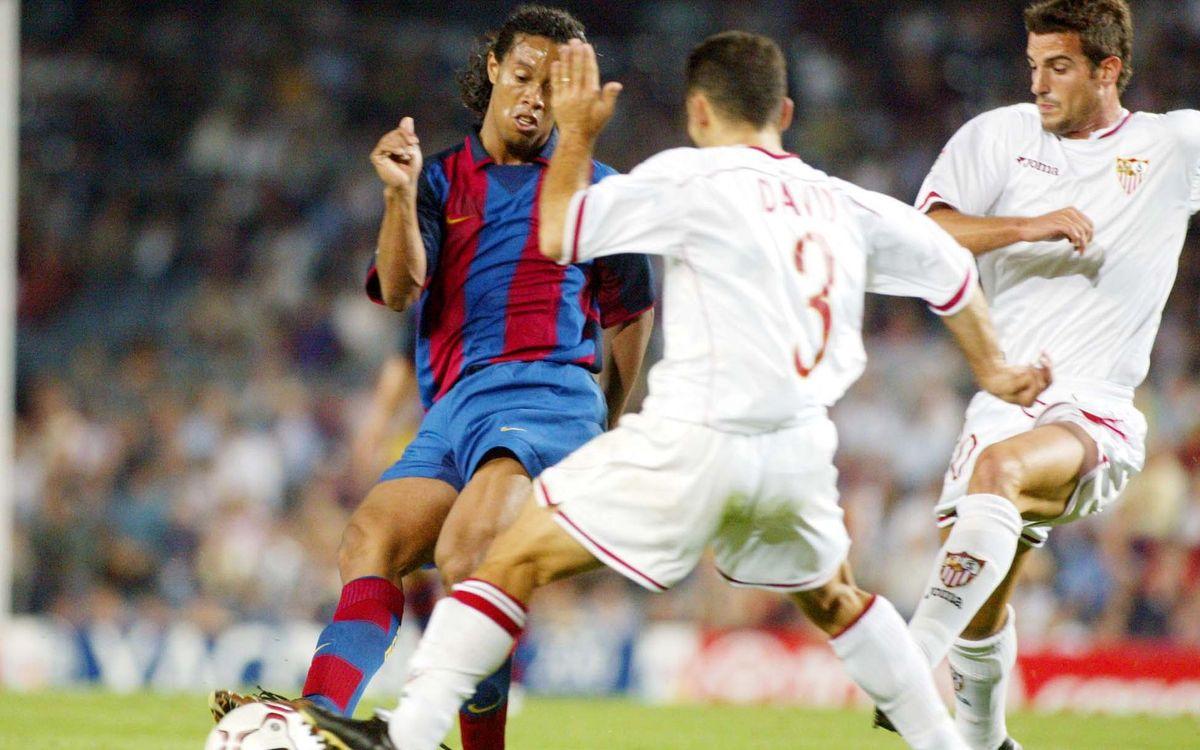 El record d'una nit màgica contra el Sevilla