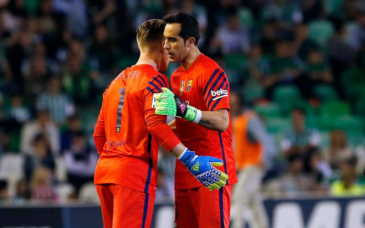Tests confirm Claudio Bravo has a calf injury