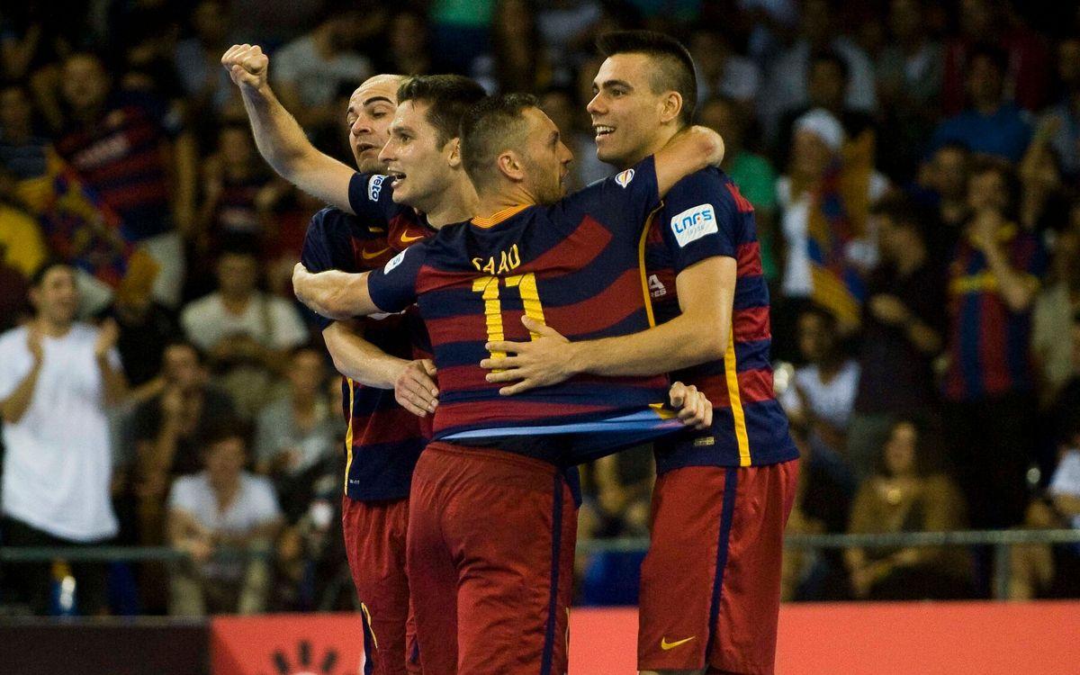 FC Barcelona Lassa - Movistar Inter: ¡Habrá cuarto partido! (6-4)