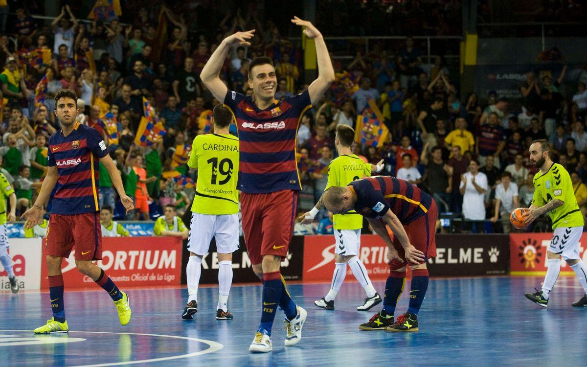 El FC Barcelona Lassa, disposat a repetir la gesta del tercer partit