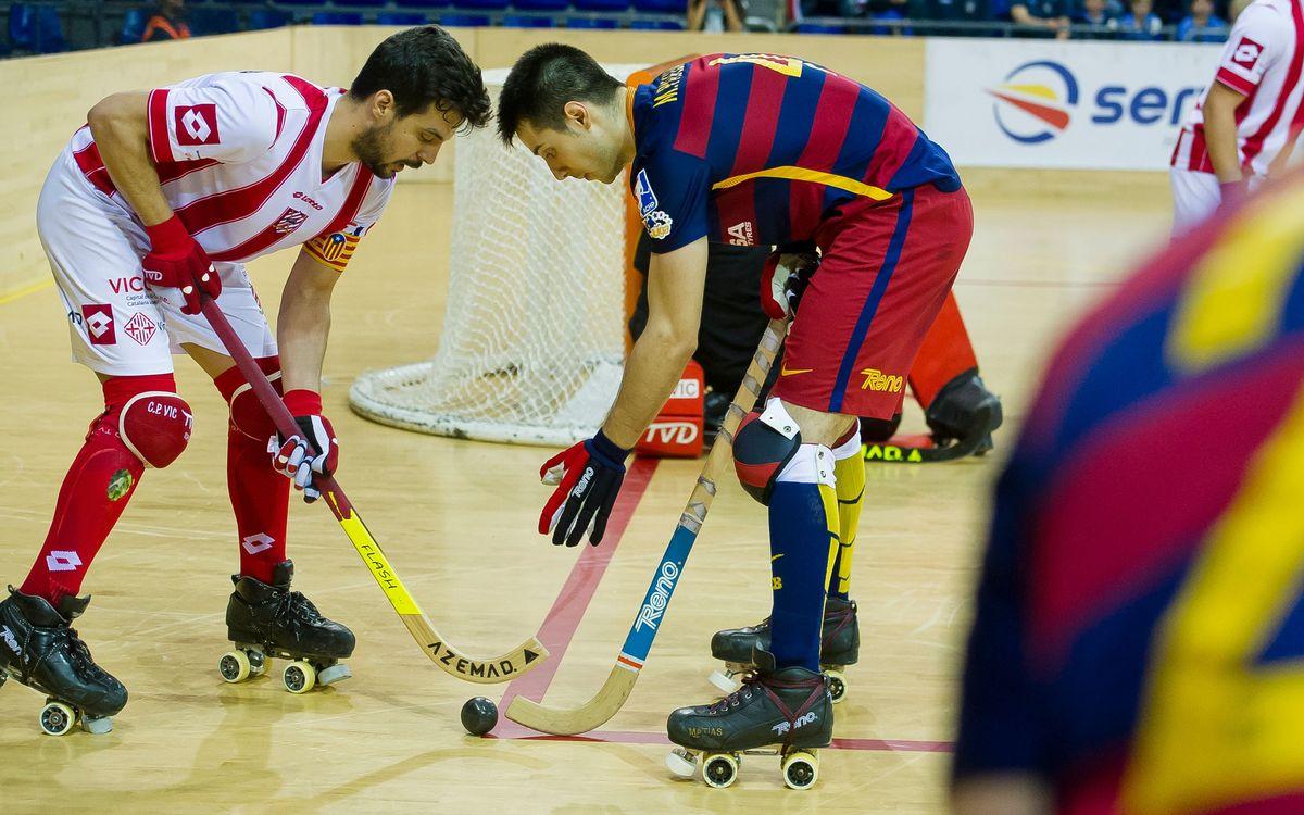Els últims tres partits del Barça Lassa a l'OK Lliga, amb molt en joc per als rivals