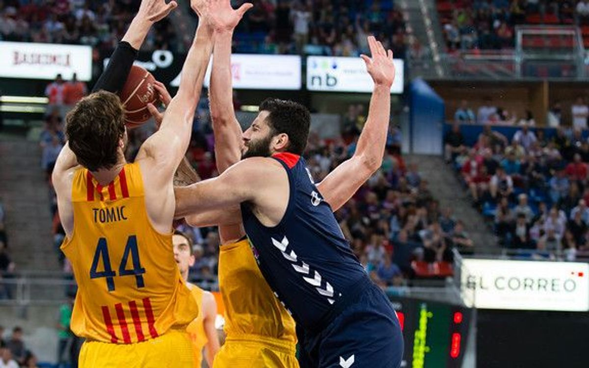 Laboral Kutxa v FC Barcelona Lassa: Through to tenth straight final! (63-85)