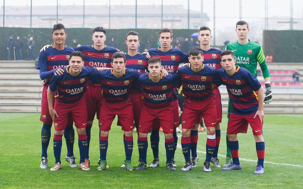 La remuntada del Juvenil B per la Lliga Nacional