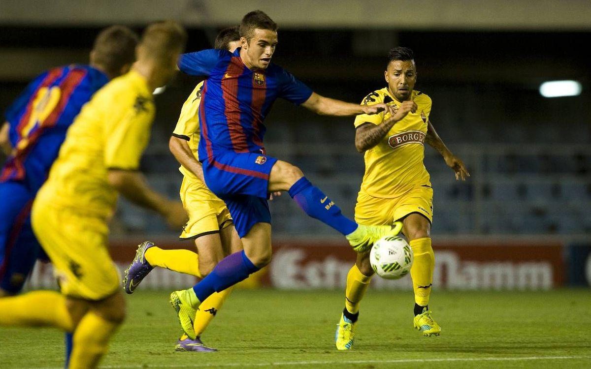Barça B - Reus Deportiu: Regreso al Mini sin fortuna (0-1)