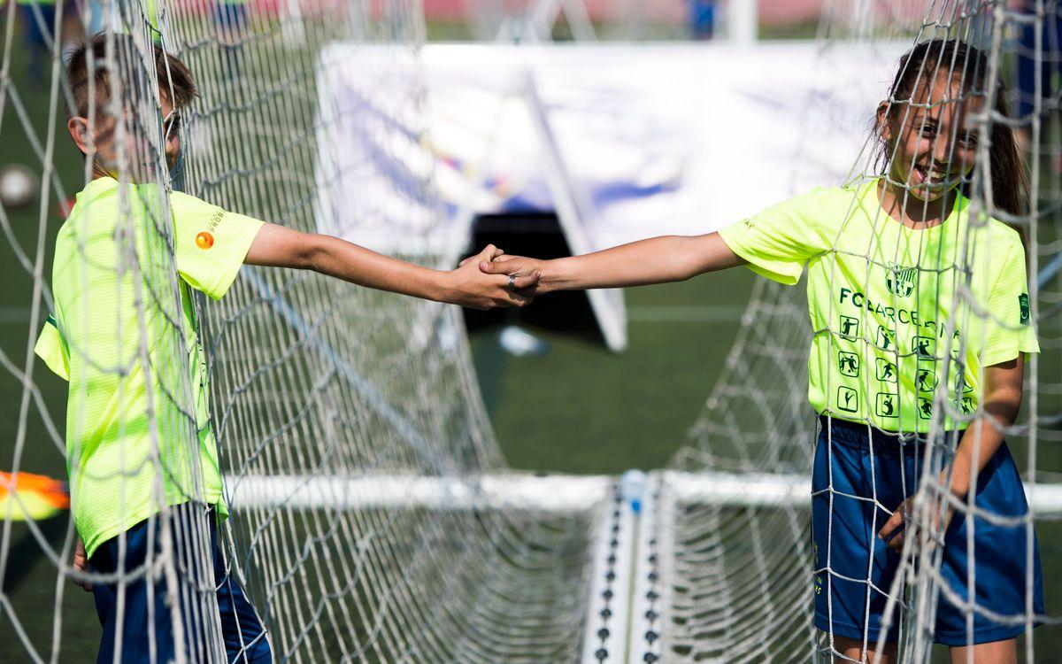 Jornada Social amb nens i nenes de Sabadell