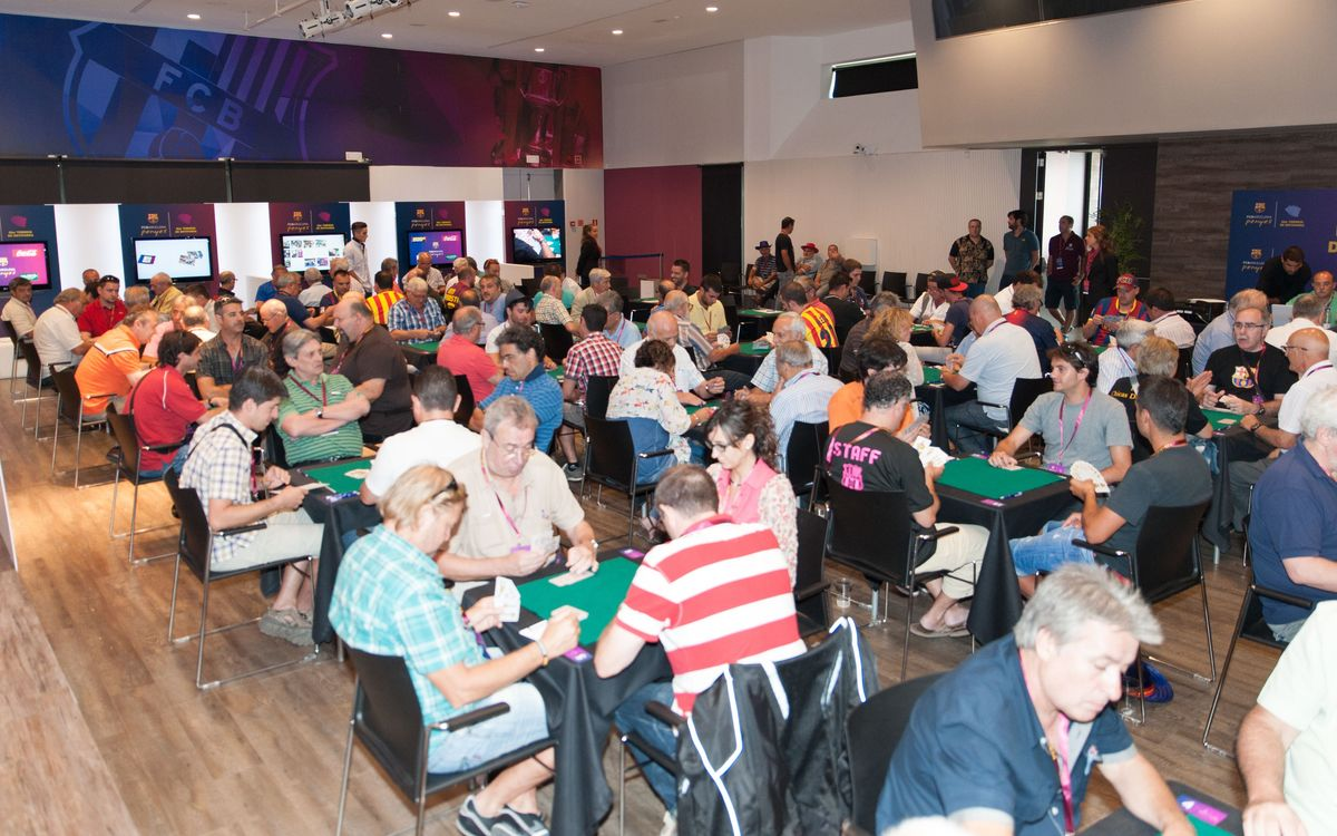 Cards tournament and dinner to mark the second day of the Congress