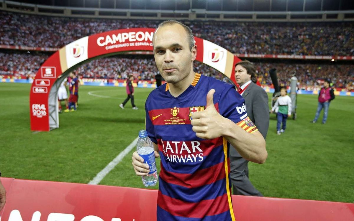 Andrés Iniesta happy with new signings