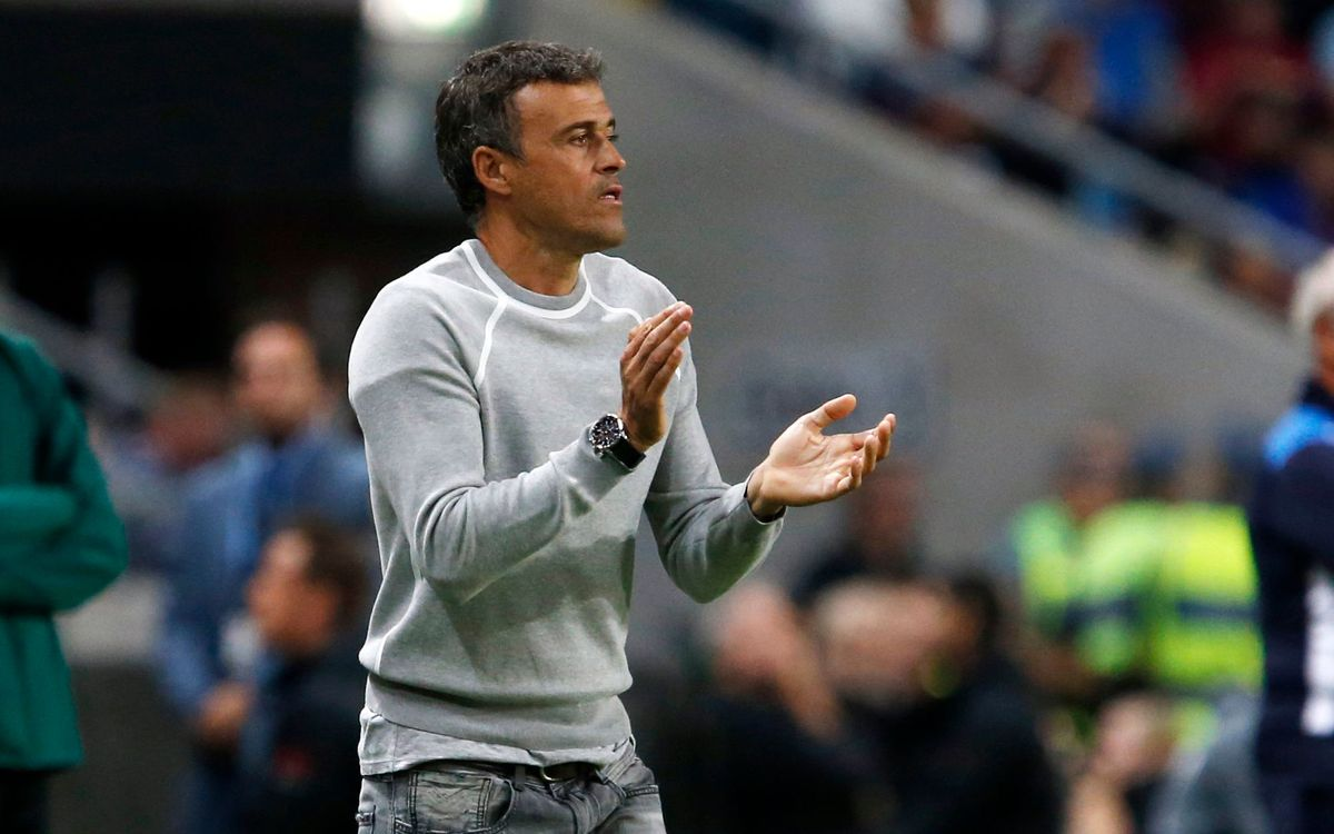 Luis Enrique and FC Barcelona players reflect on win in Stockholm