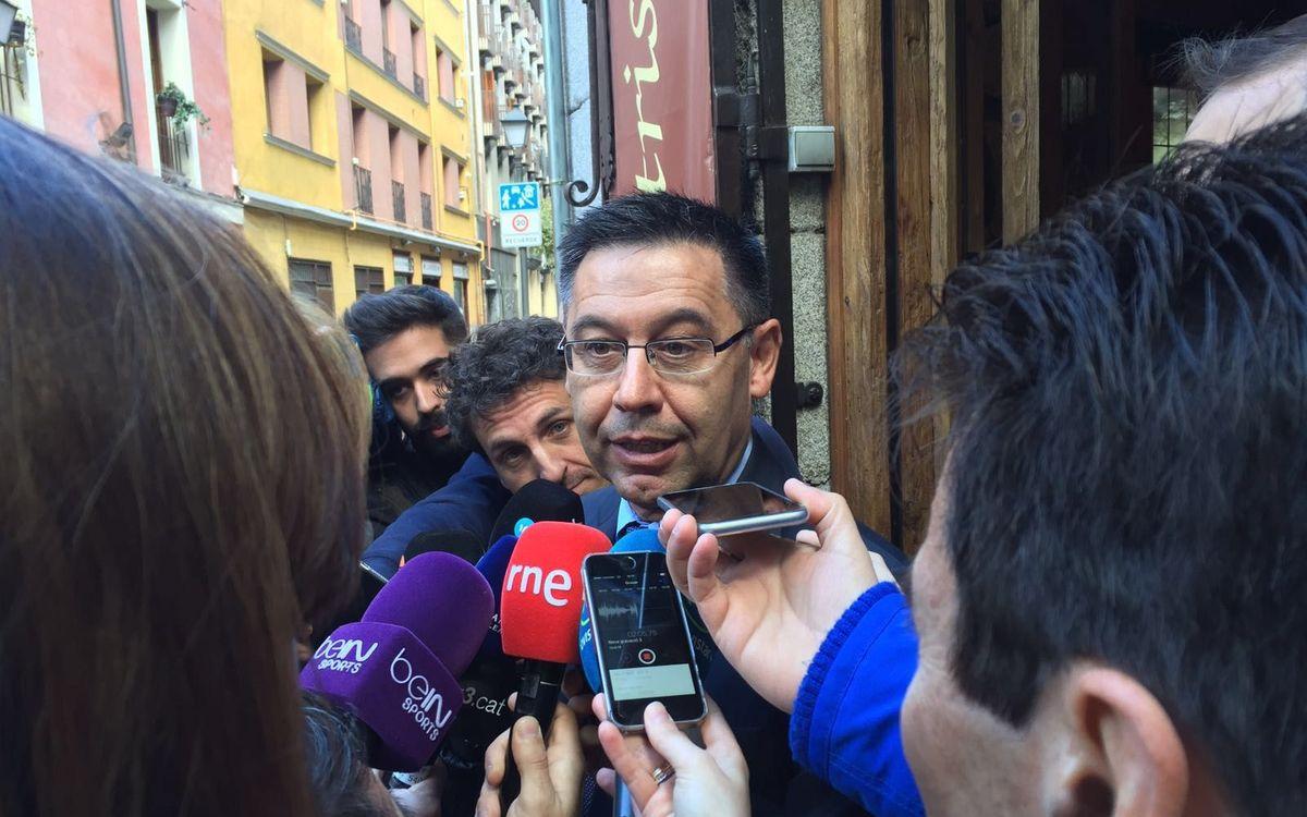 Josep Maria Bartomeu: