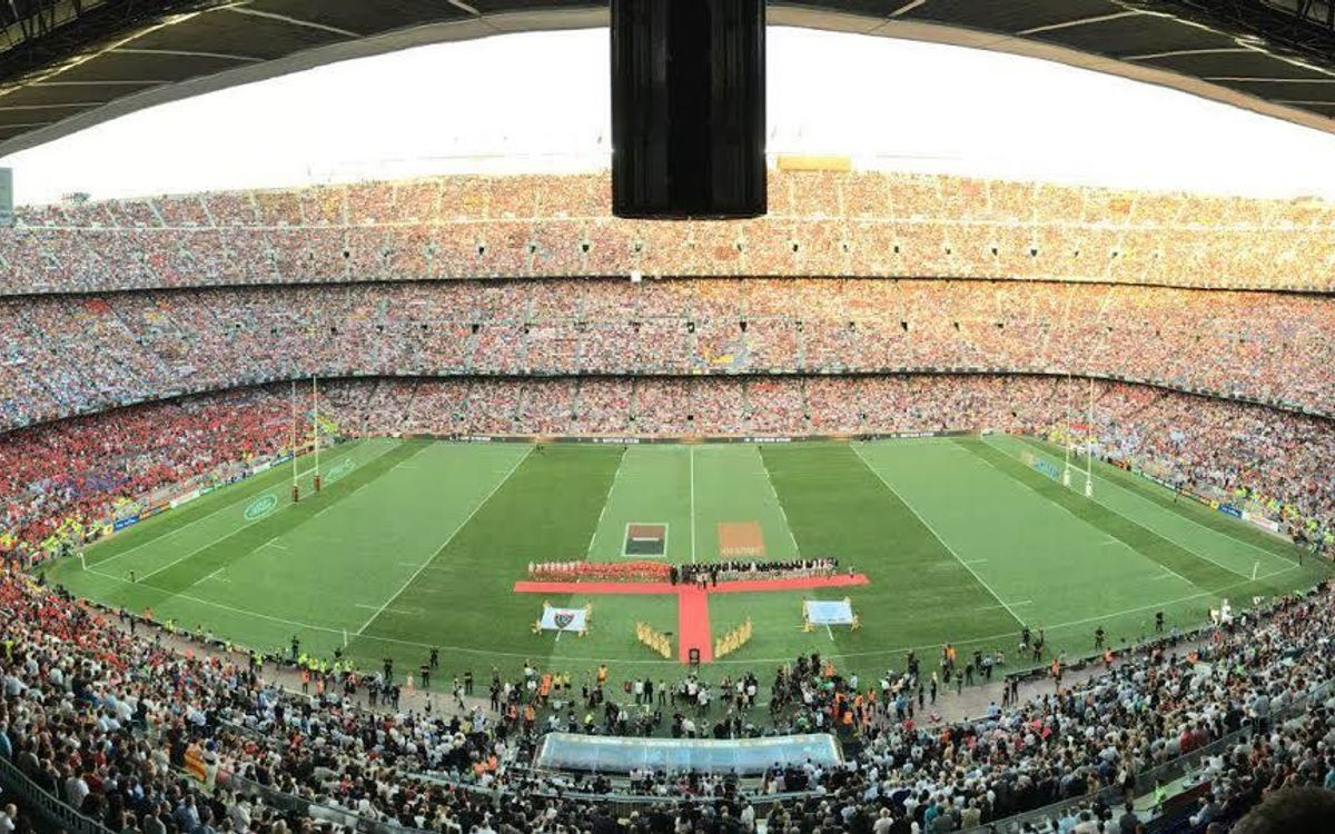 World record club rugby crowd of 99,124 watch Racing 92 take French title at Camp Nou